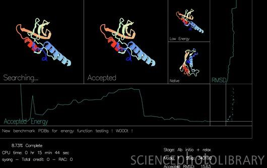 BOINC   The Folly of Human Conceits Rosetta@home